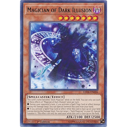 Magician of Dark Illusion - LED6-EN006 - Rare 1st Edition