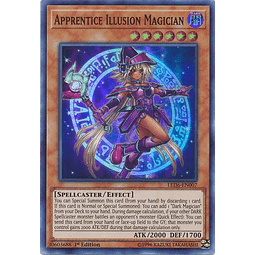 Apprentice Illusion Magician - LED6-EN007 - Super Rare 1st Edition