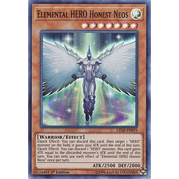 Elemental HERO Honest Neos - LED6-EN019 - Super Rare 1st Edition