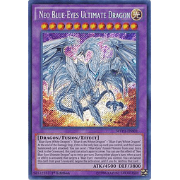 Neo Blue-Eyes Ultimate Dragon - MVP1-ENS01 - Secret Rare 1st Edition