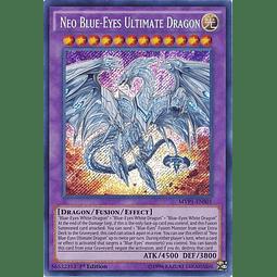 Neo Blue-Eyes Ultimate Dragon - MVP1-ENS01 - Secret Rare 1st Edition
