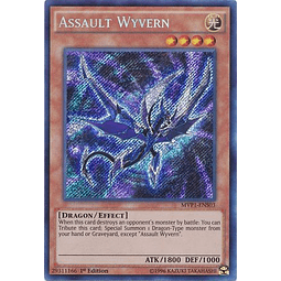 Assault Wyvern - MVP1-ENS03 - Secret Rare 1st Edition