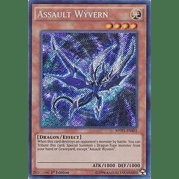 Assault Wyvern - MVP1-ENS03 - Secret Rare 1st Edition