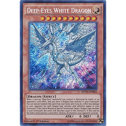 Deep-Eyes White Dragon - MVP1-ENS05 - Secret Rare 1st Edition