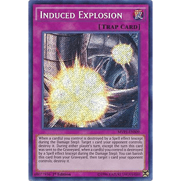Induced Explosion - MVP1-ENS09 - Secret Rare 1st Edition