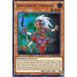 Amazoness Princess - LEDU-EN008 - Super Rare 1st Edition