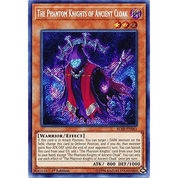 The Phantom Knights of Ancient Cloak - BLRR-EN061 - Secret Rare 1st Edition