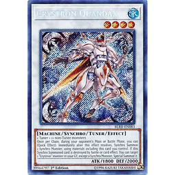 Crystron Quandax - BLRR-EN083 - Secret Rare 1st Edition