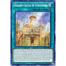 Golden Castle of Stromberg - BLRR-EN010 - Secret Rare 1st Edition