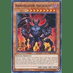 Annihilator Archfiend - IGAS-EN000 - Rare 1st Edition