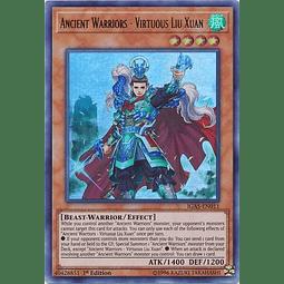 Ancient Warriors - Virtuous Liu Xuan - IGAS-EN011 - Ultra Rare 1st Edition