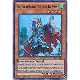 Ancient Warriors - Virtuous Liu Xuan - IGAS-EN011 - Ultra Rare 1st Edition