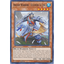 Ancient Warriors - Eccentric Lu Jing - IGAS-EN010 - Rare 1st Edition