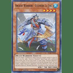 Ancient Warriors - Eccentric Lu Jing - IGAS-EN010 - Rare 1st Edition