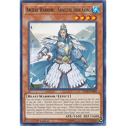 Ancient Warriors - Graceful Zhou Gong - IGAS-EN009 - Rare 1st Edition