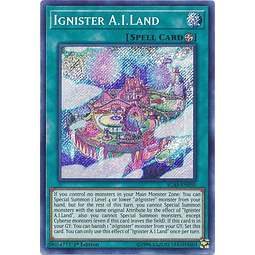 Ignister A.I.Land - IGAS-EN050 - Secret Rare 1st Edition