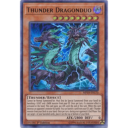 Thunder Dragonduo - MP19-EN170 - Ultra Rare 1st Edition