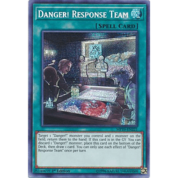 Danger! Response Team - MP19-EN221 - Prismatic Secret Rare 1st Edition