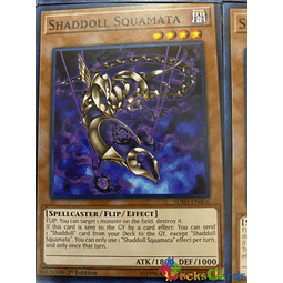 Shaddoll Squamata - SDSH-EN006 - Common 1st Edition