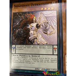 Shaddoll Zefracore - SDSH-EN011 - Common 1st Edition