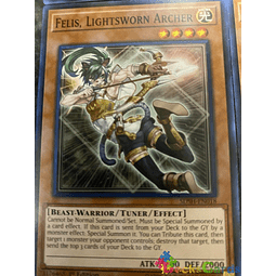 Felis, Lightsworn Archer - SDSH-EN018 - Common 1st Edition