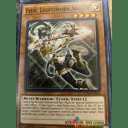 Felis, Lightsworn Archer - SDSH-EN018 - Common 1st Edition