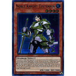 Noble Knight Custennin - CYHO-EN088 - Super Rare 1st Edition