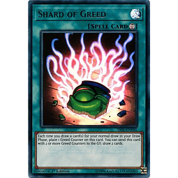 Shard of Greed - SS01-ENV01 - Ultra Rare 1st Edition