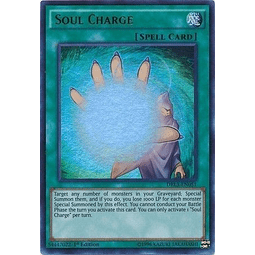 Soul Charge - DRL3-EN051 - Ultra Rare 1st Edition