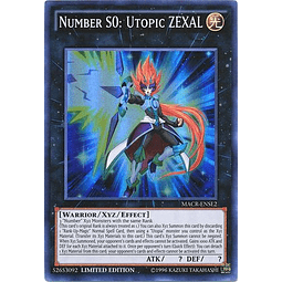 Number S0: Utopic ZEXAL - MACR-ENSE2 - Super Rare Limited Edition
