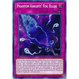 Phantom Knights' Fog Blade - BLRR-EN065 - Secret Rare 1st Edition