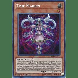 Time Maiden - BLLR-EN035 - Secret Rare 1st Edition