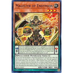 Magister of Endymion - SR08-EN003 - Common 1st Edition