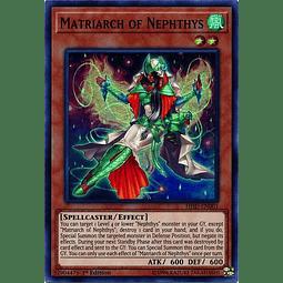 Matriarch of Nephthys - HISU-EN001 - Super Rare 1st Edition