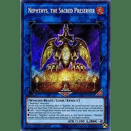 Nephthys, the Sacred Preserver - HISU-EN007 - Secret Rare 1st Edition