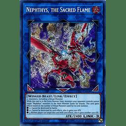 Nephthys, the Sacred Flame - HISU-EN008 - Secret Rare 1st Edition