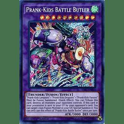 Prank-Kids Battle Butler - HISU-EN019 - Secret Rare 1st Edition
