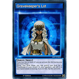 Gravekeeper's Lot - SS01-ENBS2 - Common 1st Edition