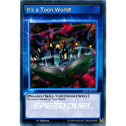 It's a Toon World! - SS01-ENCS1 - Common 1st Edition