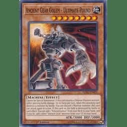 Ancient Gear Golem - Ultimate Pound - LED2-EN035 - Common 1st Edition