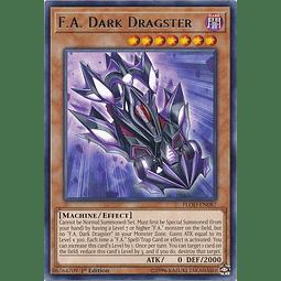 F.A. Dark Dragster - FLOD-EN087 - Rare 1st Edition