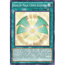 Rank-Up-Magic Cipher Ascension - RATE-EN056 - Common Unlimited