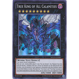 True King of All Calamities - MACR-EN046 - Super Rare Unlimited