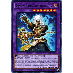 Gravekeeper's Supernaturalist - SOFU-EN035 - Rare Unlimited