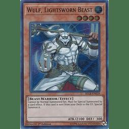Wulf, Lightsworn Beast - BLLR-EN039 - Ultra Rare 1st Edition