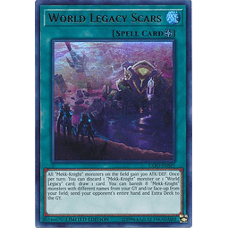 World Legacy Scars - EXFO-ENSP1 - Ultra Rare Limited Edition