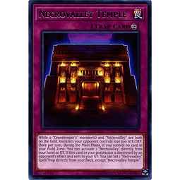 Necrovalley Temple - SOFU-EN068 - Rare Unlimited