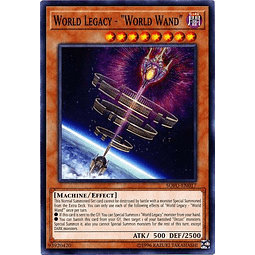 "World Legacy - ""World Wand"" - SOFU-EN017 - Common Unlimited"