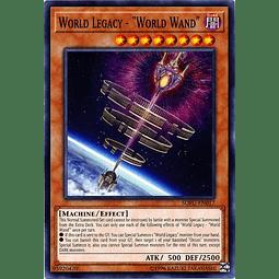 "World Legacy - ""World Wand"" - SOFU-EN017 - Common Unlimited"