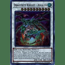 Dragunity Knight - Ascalon - CYHO-EN033 - Ultra Rare Unlimited